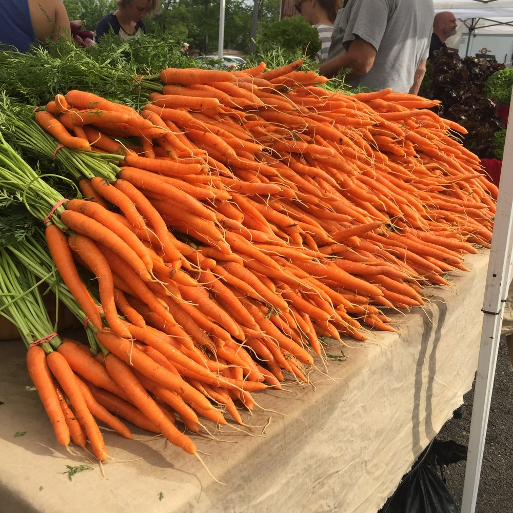 Kimberton CSA Stand at Lansdale Farmers' Market