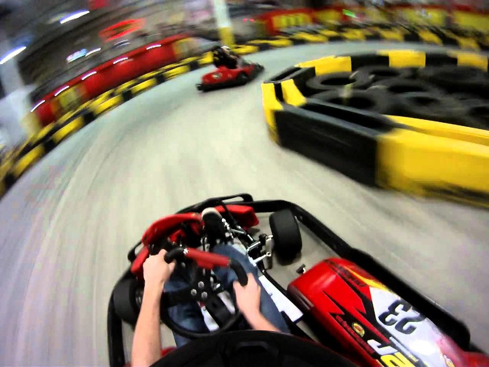 Feel the Thrill  - of Indoor Go-Kart Racing!