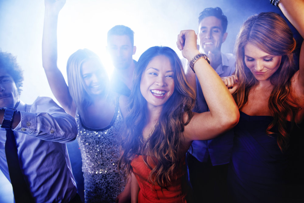 Euphoria on the dance floor!