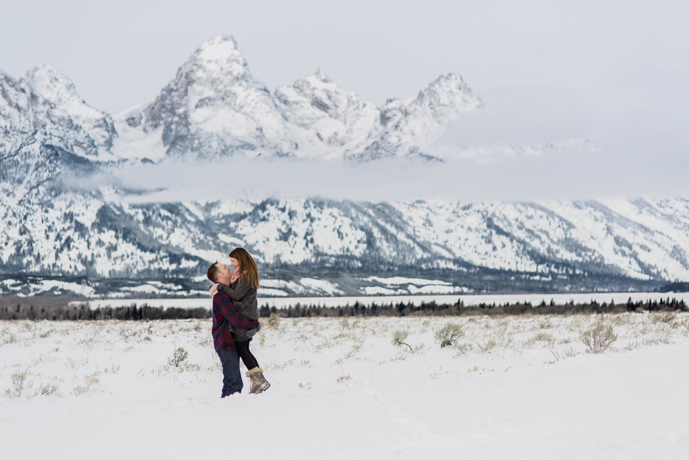 I met Jemimah & Simon the day after their destination wedding in Jackson Hole and together we drove to the Teton National Forest for a romantic wintry session this last December.  More on the blog here:  https://www.wyomingweddingphotographer.com/megan-lee-photography/love-the-tetons-jemimah-simon-in-jackson