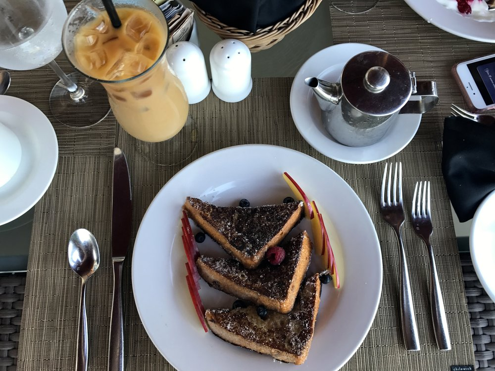 Yes, basic needs can be satisfied by vegan french toast and iced coffee with soy milk in Puerto Vallarta, Mexico... on a good day :)