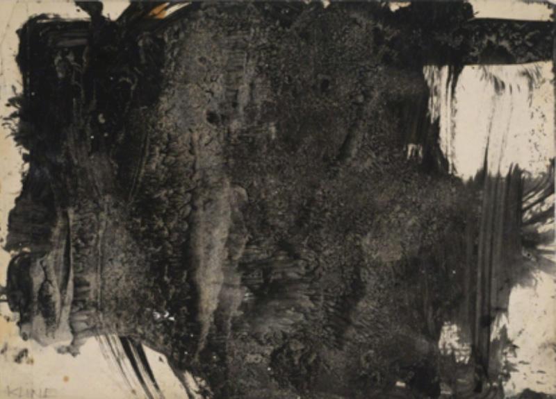 Franz Kline, Untitled (Study for Laureline), 1958
