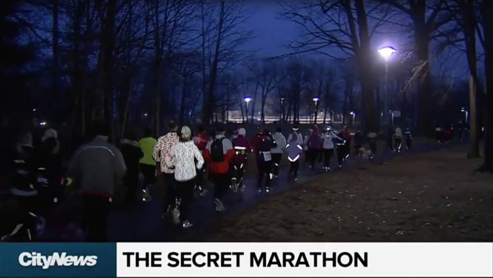 City News TV Toronto The Secret Marathon 3K 2018