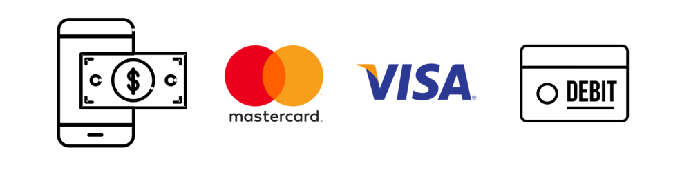 Cash, Credit and Debit Accepted