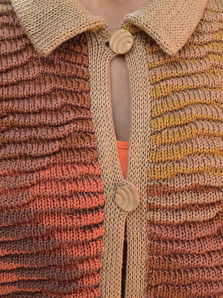 Southwest Ripple, 1989 | Jacket Detail | Cotton