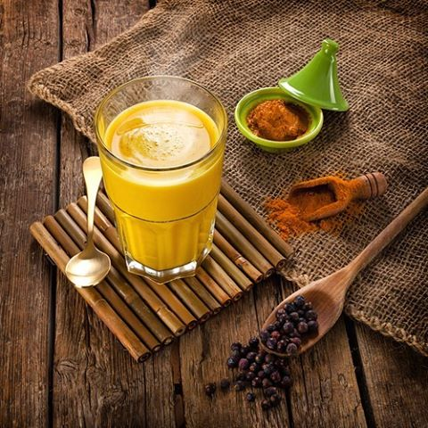 Add a tsp of our Golden Latte mix to a cup of almond milk, rice milk or hemp milk for a  diary-free, warm Saturday afternoon drink.  #turmeric #goldenmilk #vegan #veganrecipes #veganfood #diaryfree #healthyfood #health #healthyeating #rediscovertheancientsecret