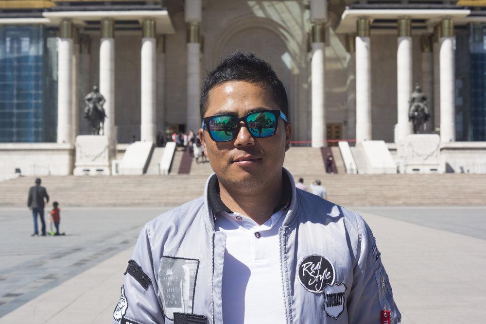Ogi from Ulaanbaatar.