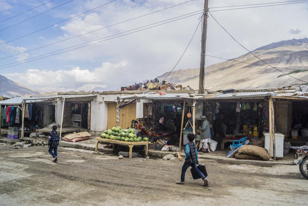 Kids off to school, Ishkashim, Afghanistan.