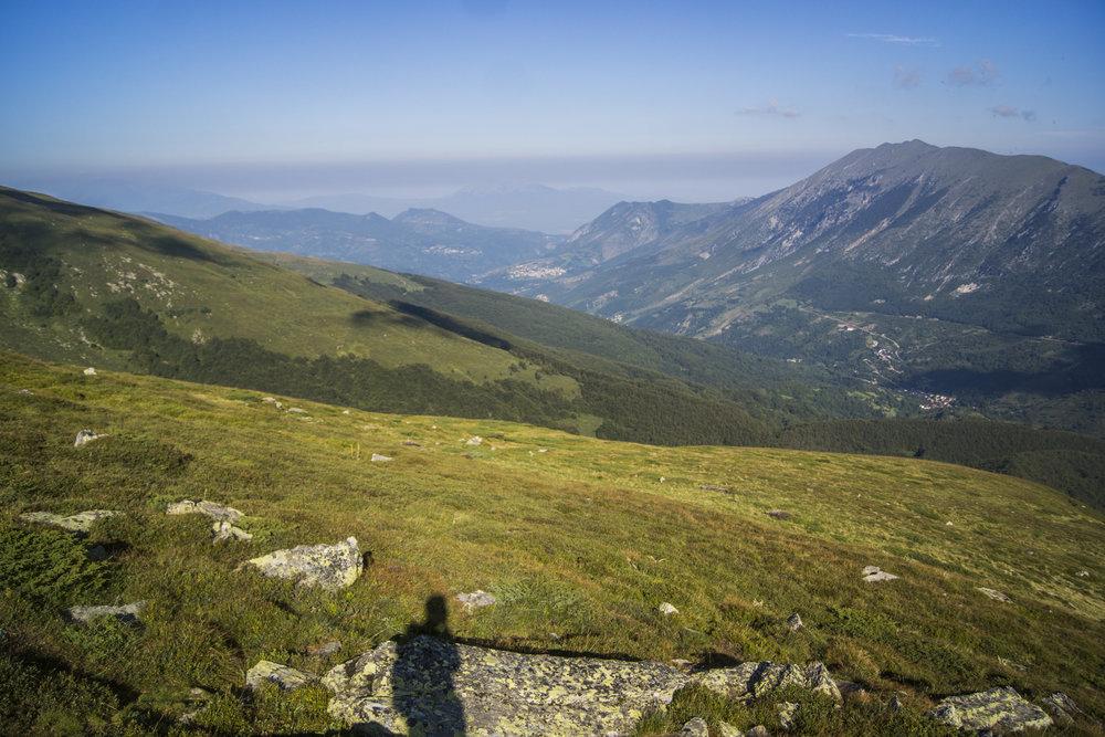 Šar Mountains, southern Kosovo.