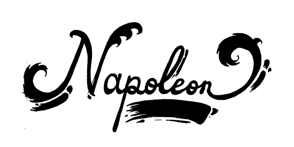 Napoleon Hand Lettering