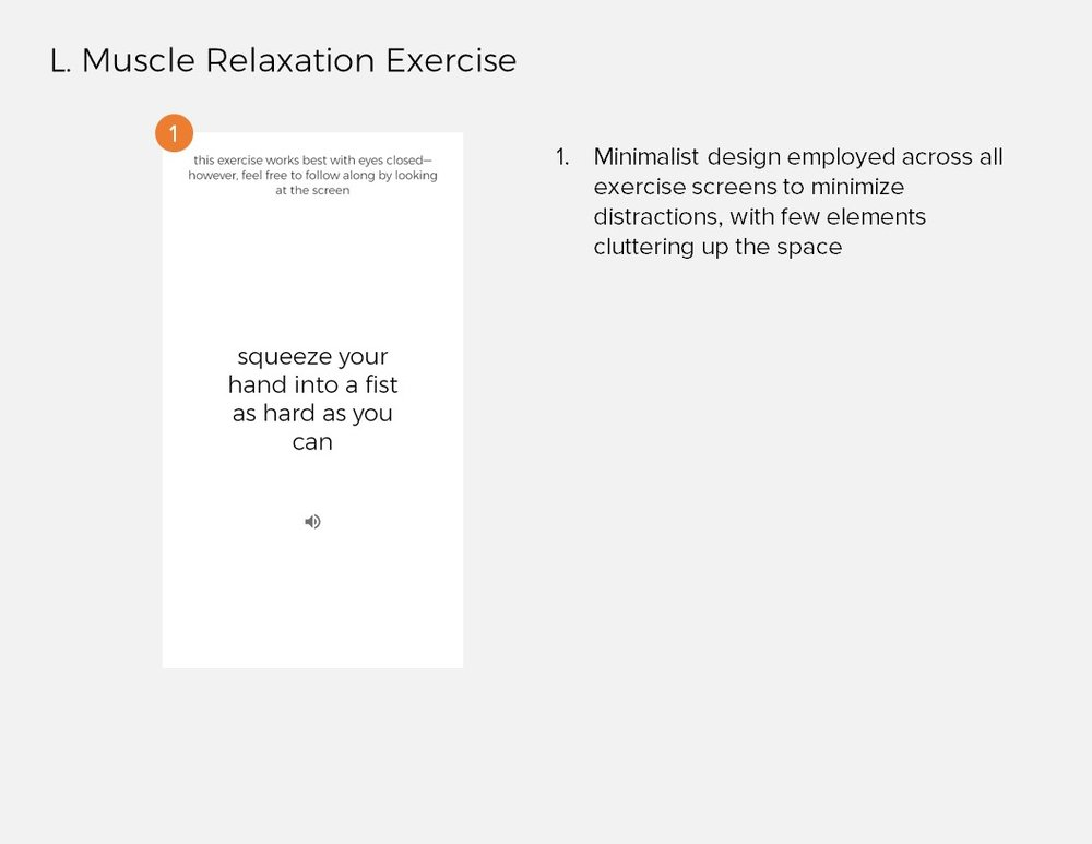 Annotations 11: L. Muscle Relaxation Exercise