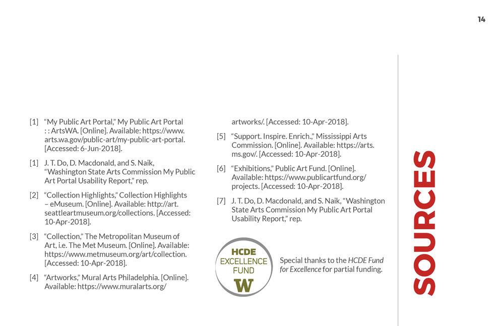 ArtsWA My Public Art Portal Process Book Sources