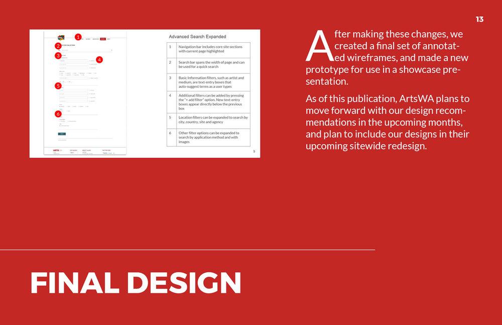 ArtsWA My Public Art Portal Process Book Final Design
