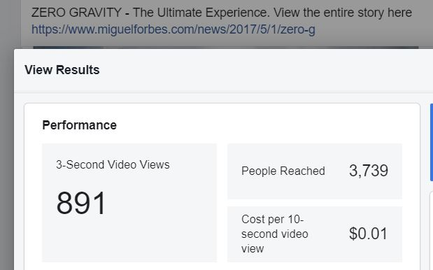 Zero Gravity Cost Per video VIEW.JPG