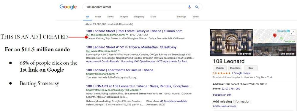 Matthew Albertell Advertising 108 Leonard Street.JPG