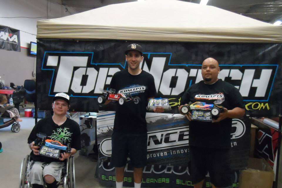 2nd place 17.5 Buggy Top Notch