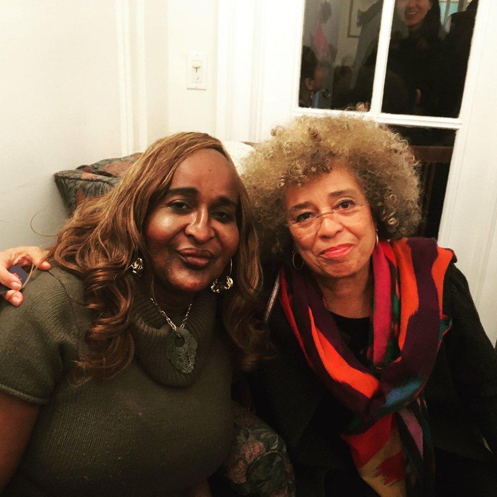 Janetta Johnson & Angela Davis - TGI Justice