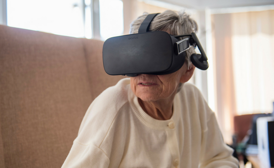 Is Virtual Reality changing the lives of dementia patients in Britan.