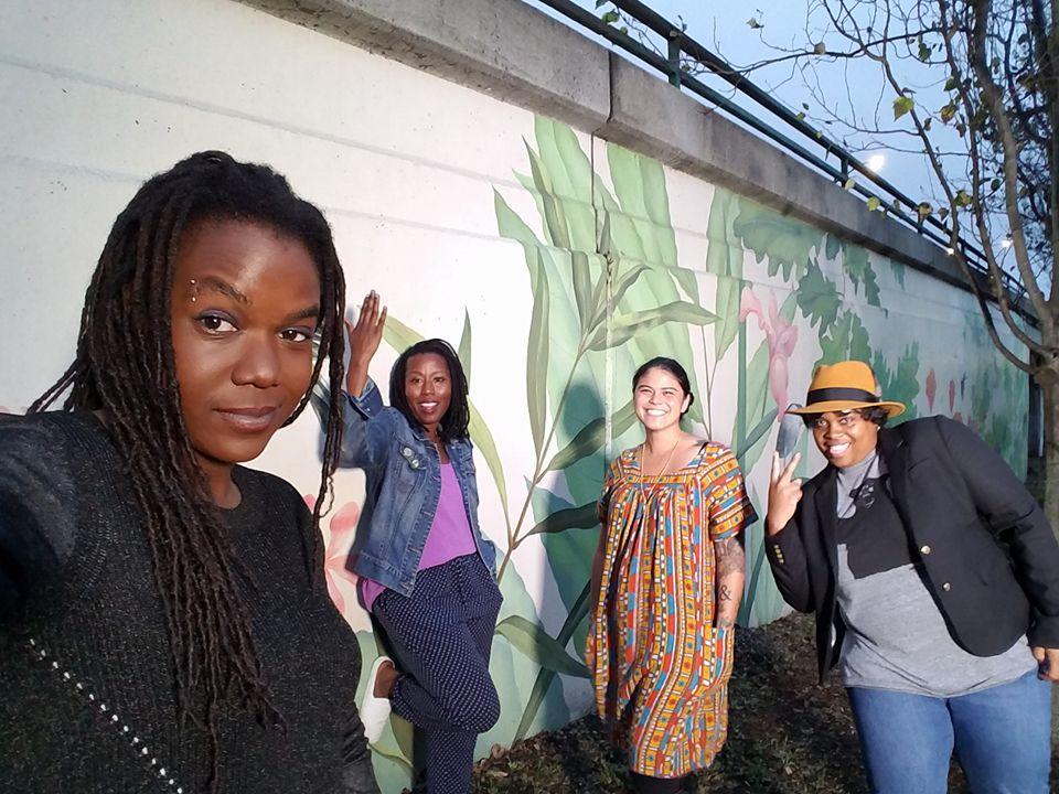 Supernova Women: Andrea Unsworth, Sunshine Lencho, Nina Parks, Amber Senter.