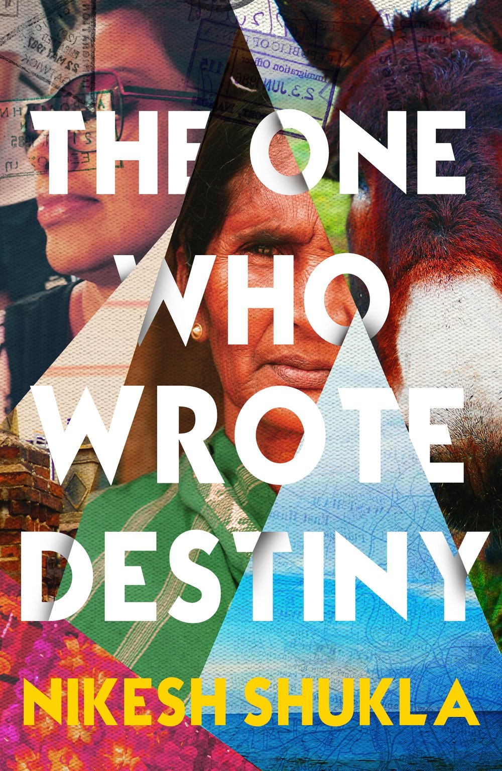 Front Cover: The One Who Wrote Destiny by Nikesh Shukla