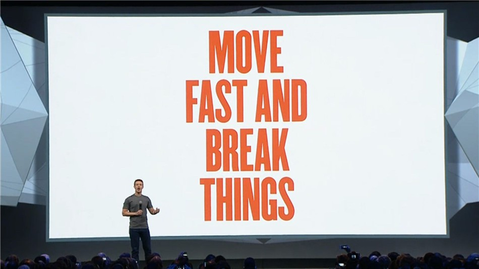 Facebook's early motto