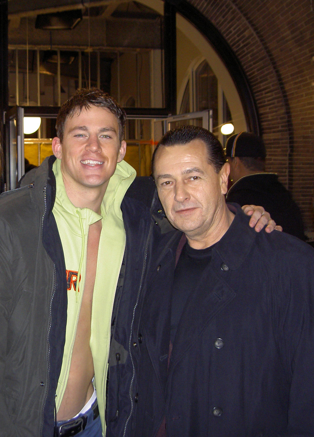 Channing Tatum and Vladimir Nazarov