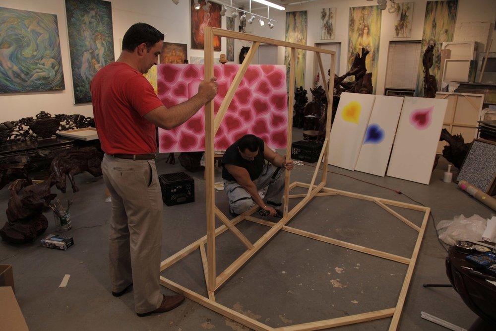 Vladimir Nazarov in Dumbo Studio