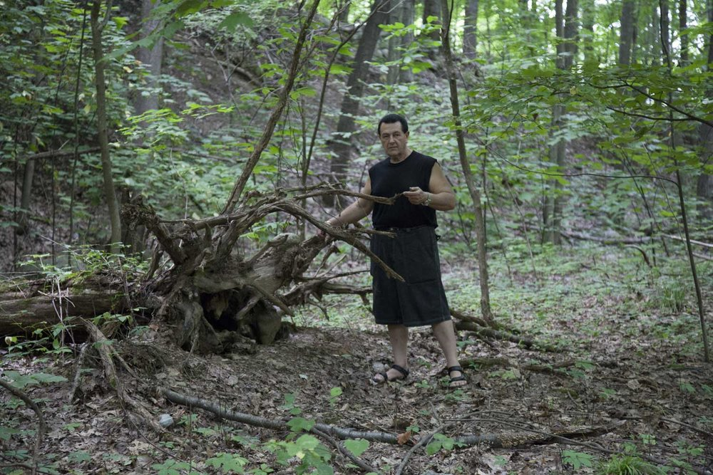 Vladimir Nazarov - Sourcing Wood for Sculptures