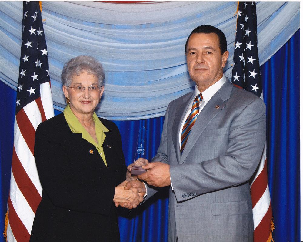 U.S. Representative Virginia Foxx and Vladimir Nazarov