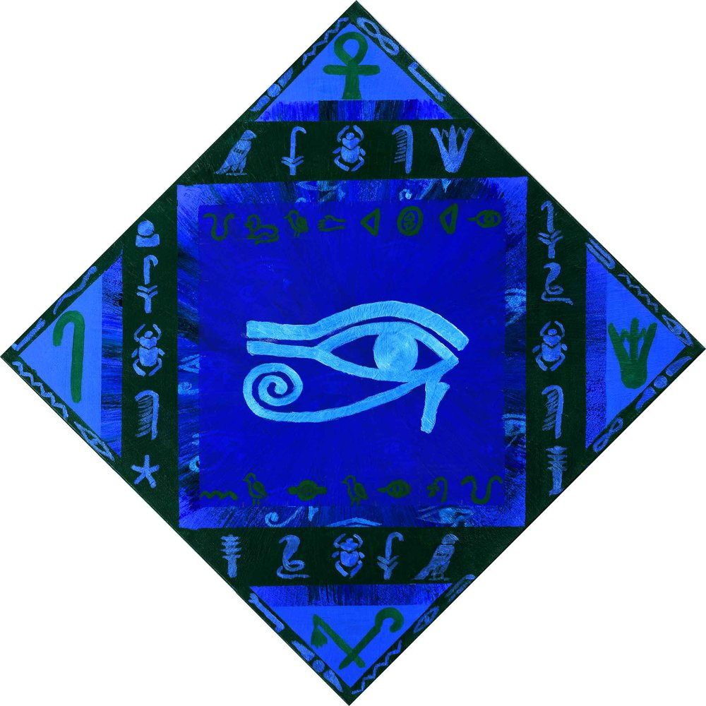 """Ancient Wisdom 12""""H x 12""""W"""