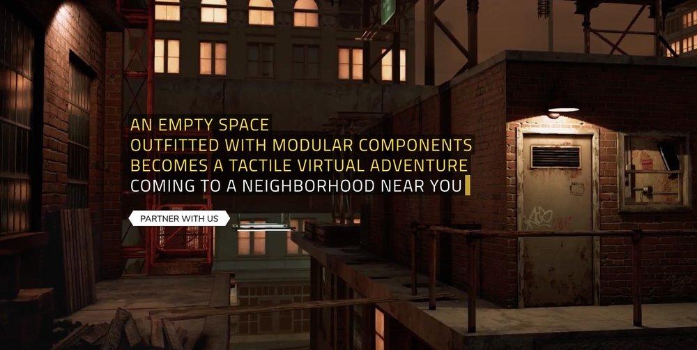 Nomadic VR environment