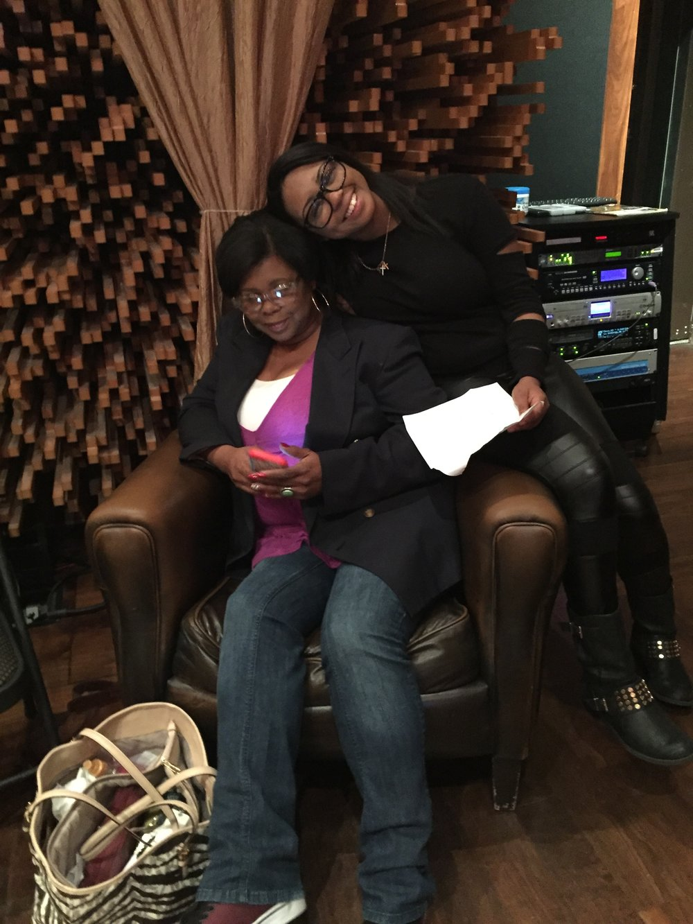Sarina-Joi Crowe and her mom: Patricia - Disco Slam sessions
