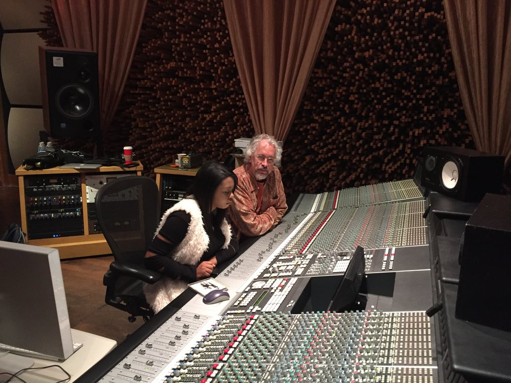 Sarina-Joi Crowe and Rick Clark - Disco Slam sessions, Blackbird Studios