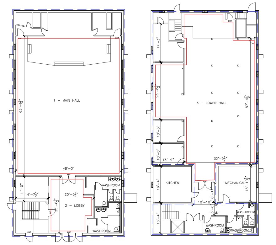 Celebrations Floorplan