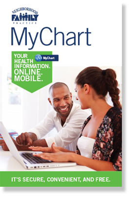 Click on the MyChart image above to read or download.