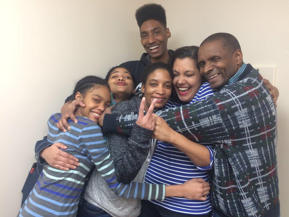 The Homan family