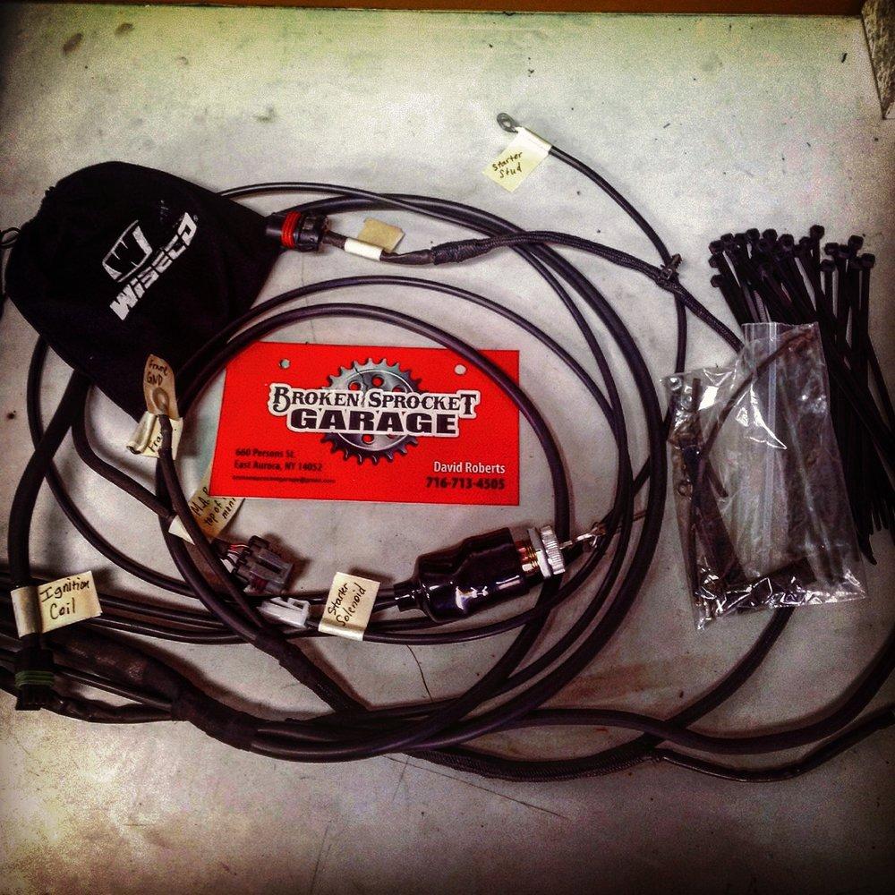 Custom Motorcycle Wiring Harness  U2014 Broken Sprocket Garage