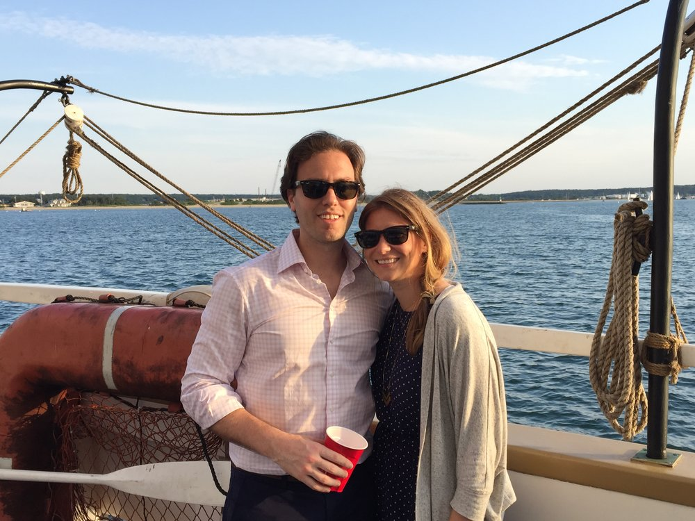 Sailing on Martha's Vineyard