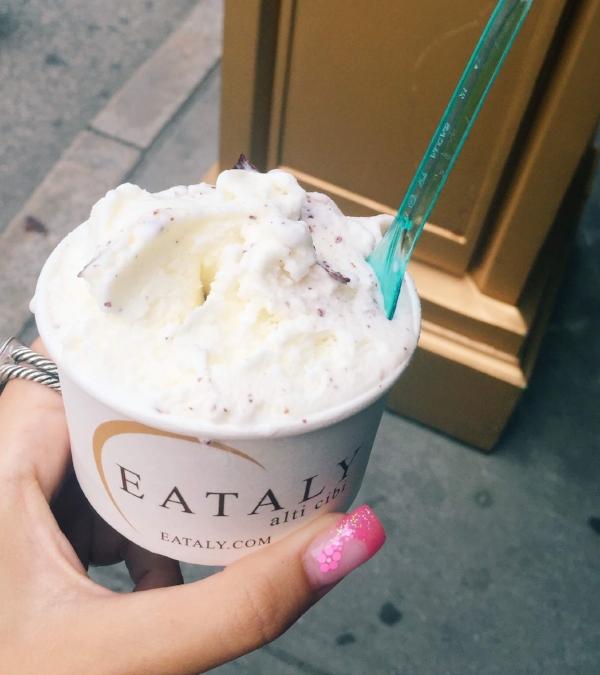 Gelato at Eataly