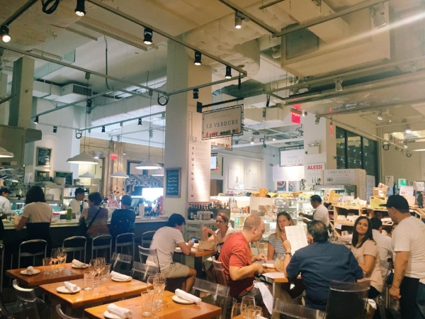 Interior of Eataly