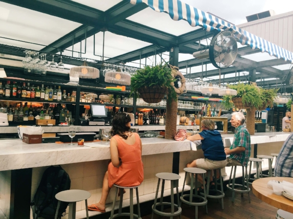 Sabbia Rooftop at Eataly