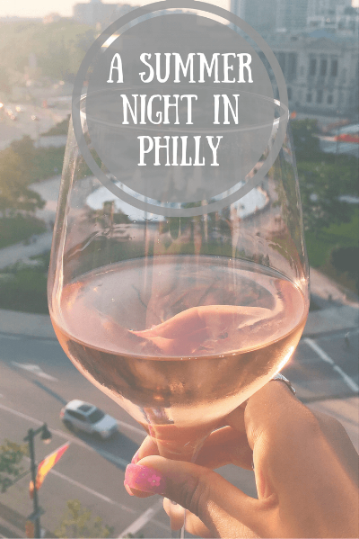 A summer night in philly