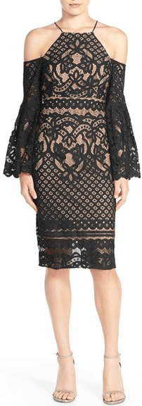 Nordstrom Black Lace New Years Eve Dress.png