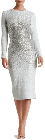 Nordstrom White New Years Eve Dress.png