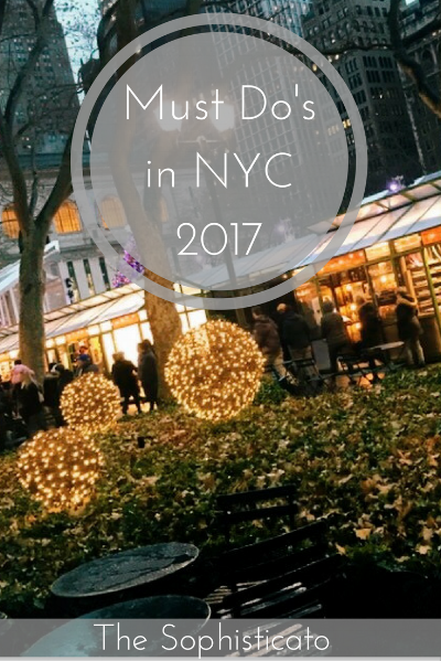 Must Do's in NYC