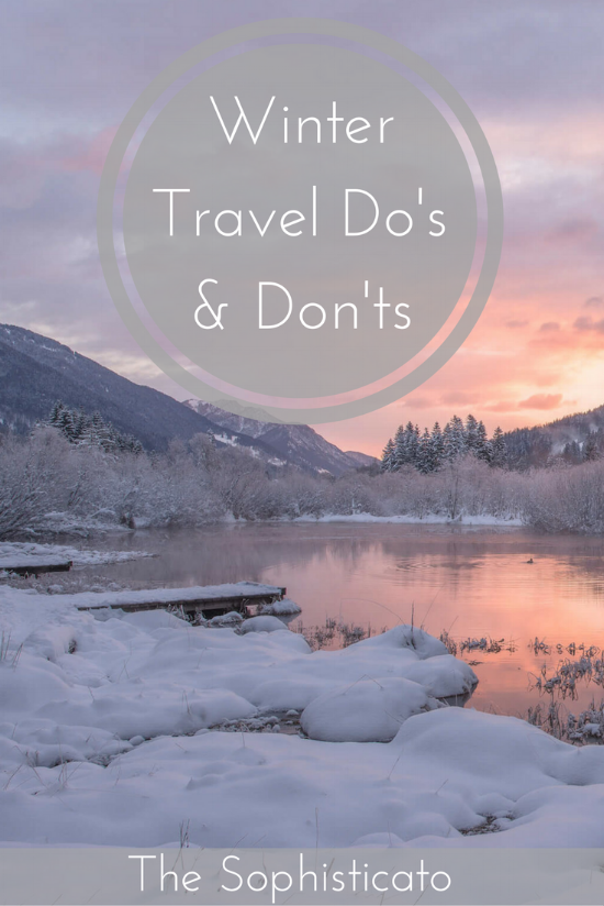 Winter Travel Do's and Don'ts