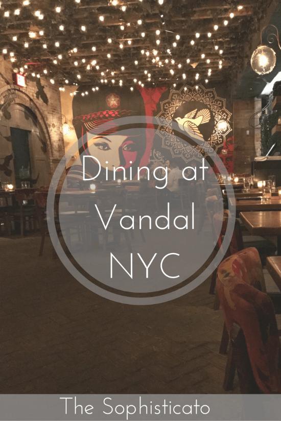 Dinner at Vandal