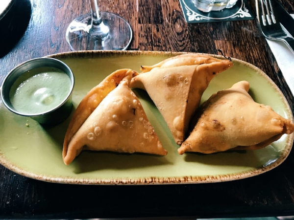 Empanadas at Wynwood Walls Kitchen & Bar