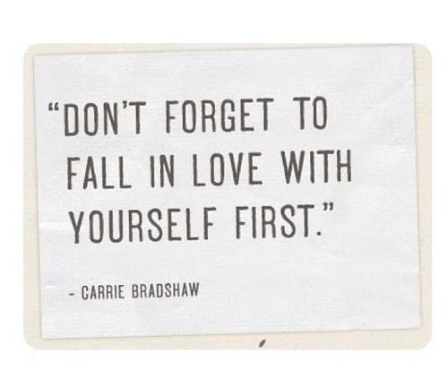 Your Relationship With You Carrie Bradshaw