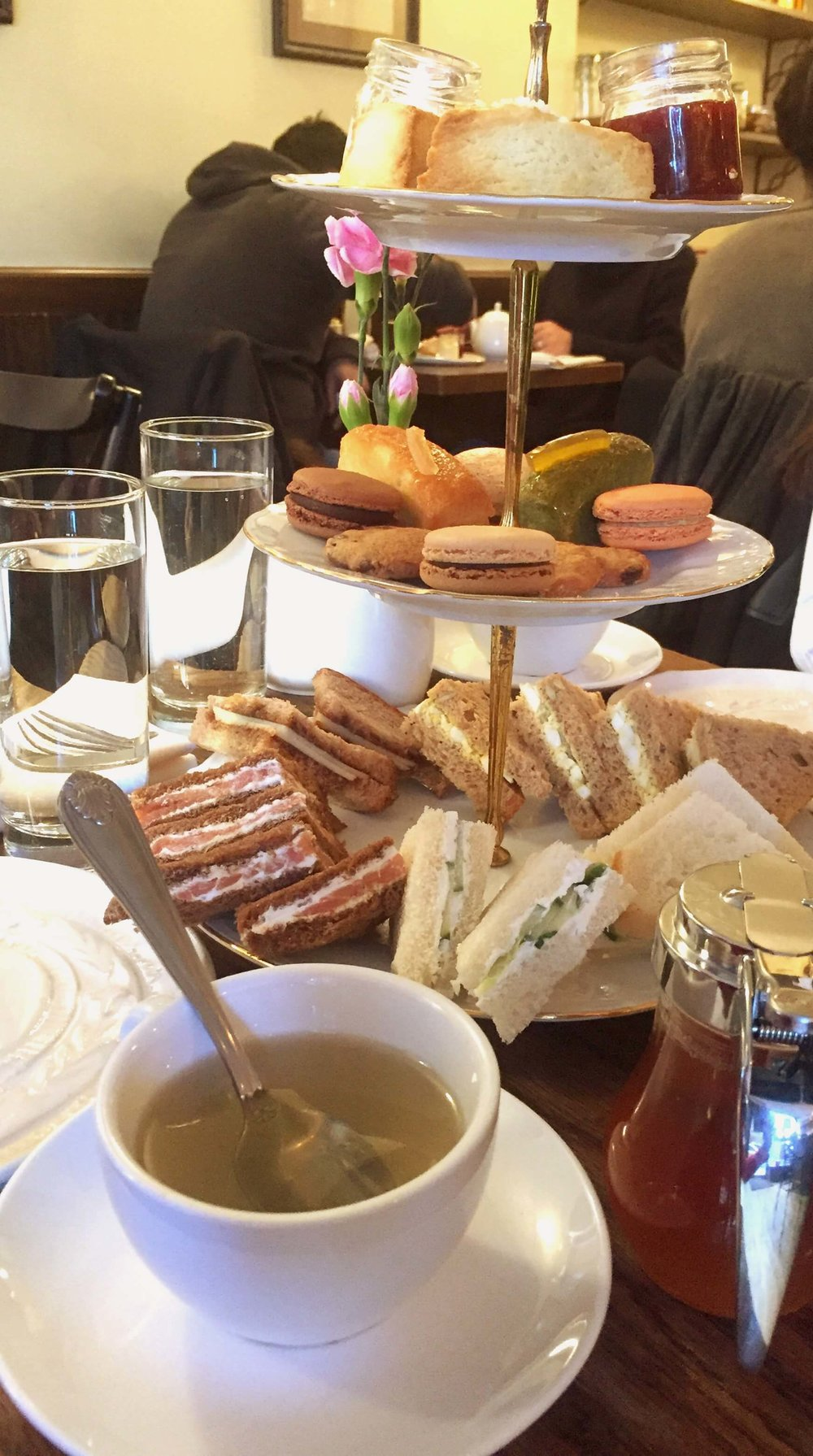 Afternoon Tea Bosie Tea Parlour